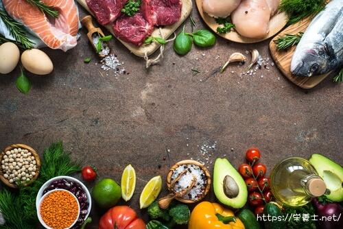 栄養バランスの良い食事をしよう