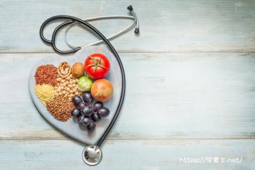 健康と食事は密接な関係
